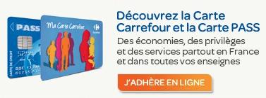 Mon compte fidélité sur www.carrefour.fr