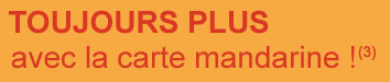 WWW.FINAREF.FR - Carte Mandarine