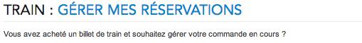 WWW.VOYAGES-SNCF.COM Ma réservation