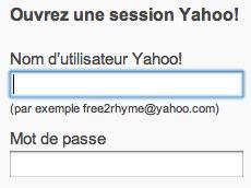 Mon Compte Yahoo sur www.yahoo.fr