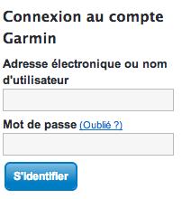 Mon Compte Garmin sur www.garmin.com