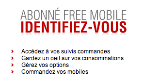 Ma Facture Free Mobile sur www.free.fr
