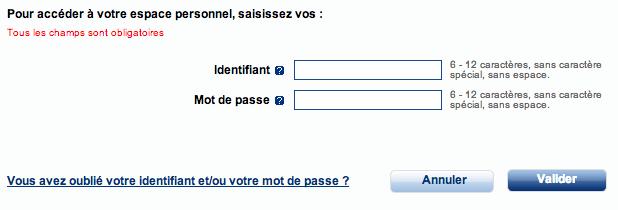Mon Compte ANPE sur www.pole-emploi.fr