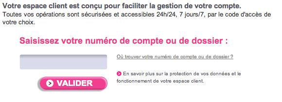Espace Clients Cofinoga sur www.cofinoga.fr