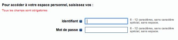 Mon Dossier, Mon Compte Assedic sur www.assedic.fr